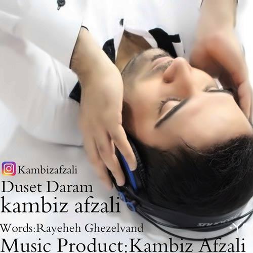 دانلود آهنگ جدید کامبیز افضلی بنام دوست دارم